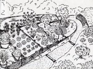 activités de décembre: Plan de jardin