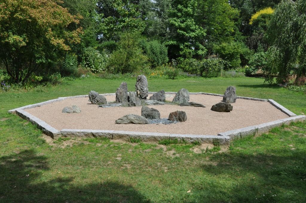 Un jardin zen dans la dr me jardiner avec jean paul for Jardin 86