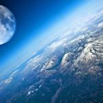 Décembre: terre et lune