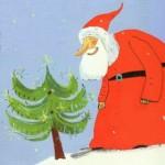 Père Noël et le petit sapin